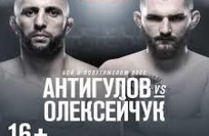 Видео боя Гаджимурад Антигулов — Михаил Олексейчук UFC Fight Night 149