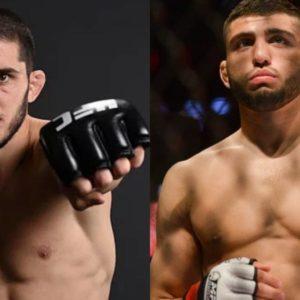 Видео боя Ислам Махачев — Арман Царукян UFC Fight Night 149