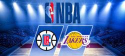 Прямая трансляция Лос-Анджелес Клипперс - Лос-Анджелес Лейкерс. NBA. 06.04.19