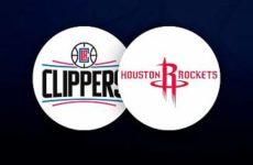 Прямая трансляция Лос-Анджелес Клипперс — Хьюстон Рокетс. NBA. 04.04.19