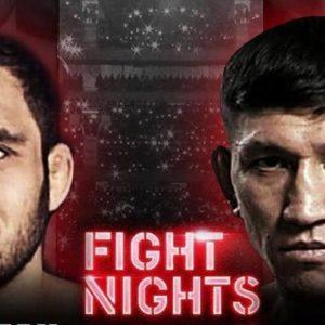 Видео боя Куат Хамитов — Нариман Аббасов Fight Nights Global 93