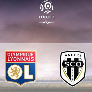 Прямая трансляция Лион - Анже. Лига 1. 19.04.19