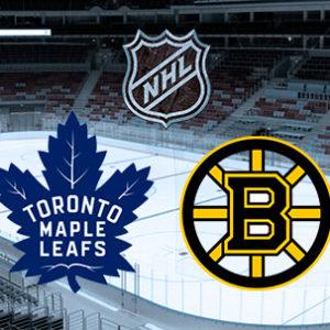 Прямая трансляция Торонто Мэпл Лифс — Бостон Брюинз. NHL. 16.04.19