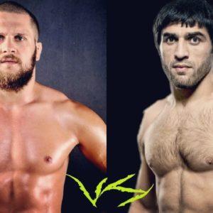 Видео боя Магомед Мустафаев — Рафаэль Физиев UFC Fight Night 149
