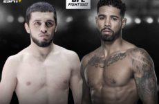 Видео боя Макс Гриффин — Зелим Имадаев UFC 236