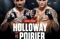 Видео боя Макс Холлоуэй — Дастин Порье UFC 236