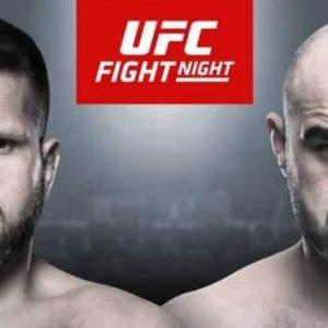 Видео боя Марчин Тыбура — Шамиль Абдурахимов UFC Fight Night 149