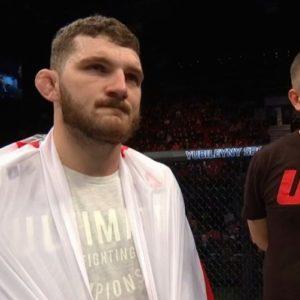 Михал Олексейчук оказался сильнее Гаджимурада Антигулова на UFC Fight Night 149