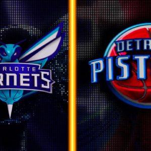 Прямая трансляция Детройт Пистонс — Шарлот Хорнетс. NBA. 30.11.19