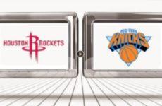 Прямая трансляция Хьюстон Рокетс — Нью-Йорк Никс. NBA. 06.04.19