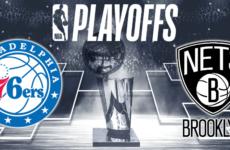 Прямая трансляция Филадельфия Сиксерз — Бруклин Нетс. NBA. 13.04.19