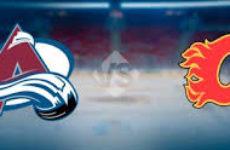 Прямая трансляция Колорадо Эвеланч — Калгари Флеймз. NHL. 16.04.19