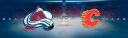 Прямая трансляция Колорадо Эвеланч - Калгари Флеймз. NHL. 16.04.19