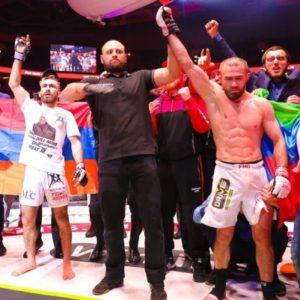 Али Багаутинов оказался сильнее за Вартана Асатряна