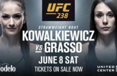 Каролина Ковалькевич проведет бой с Алексой Грассо на UFC 238