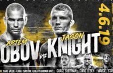 Файткард турнира Bare Knuckle Fighting Championship 5: Артем Лобов – Джейсон Найт