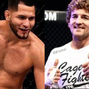Официально: Бен Аскрен и Хорхе Масвидал проведут бой на UFC 239