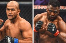 Фрэнсис Нганну — Джуниор Дос Сантос на турнире UFC 239