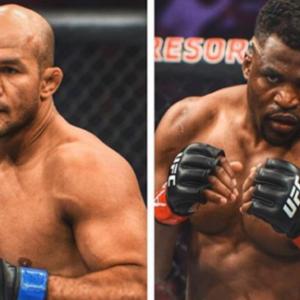 Фрэнсис Нганну - Джуниор Дос Сантос на турнире UFC 239