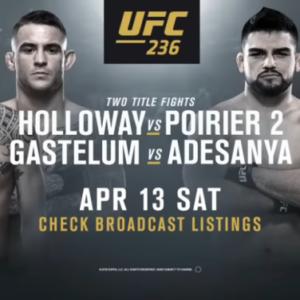 Результаты взвешивания участников турнира UFC 236: Макс Холлоуэй - Дастин Порье 2