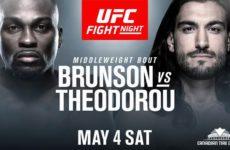 Видео боя Дерек Брансон — Элиас Теодору UFC Fight Night 151
