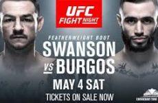 Видео боя Каб Свонсон — Шейн Бургос UFC Fight Night 151