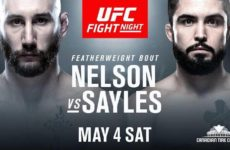 Видео боя Кайл Нельсон — Мэтт Сейлес UFC Fight Night 151