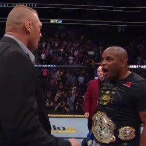 Даниэль Кормье рассказал почему Леснар выбрал WWE вместо UFC
