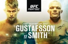 Файткард турнира UFC Fight Night 153: Александр Густафссон — Энтони Смит