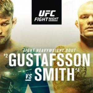 Файткард турнира UFC Fight Night 153: Александр Густафссон - Энтони Смит