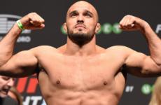 Илир Латифи не сможет принять участие в UFC Fight Night 153 из-за травмы
