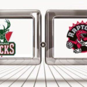 Прямая трансляция Торонто Репторс — Милуоки Бакс. NBA. 20.05.19