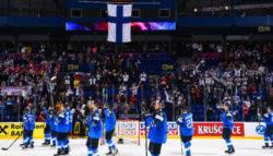 Решающая шайба Анттилы в матче Чемпионата Мира против России