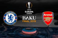 Прямая трансляция Челси — Арсенал. Лига Европы. 29.05.19