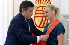 Валентина Шевченко о встрече с президентом Киргизии