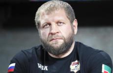 Александр Емельяненко задержали за распитие спиртных напитков в Москве