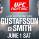 Прямая трансляция UFC Fight Night 153: Александр Густафссон — Энтони Смит, Сергей Хандожко — Ростем Акман