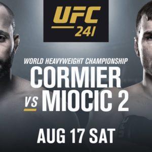 Официально: Даниэль Кормье и Стипе Миочич проведут реванш на UFC 241