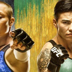 Видео боя Роуз Намаюнас — Джессика Андраде UFC 237