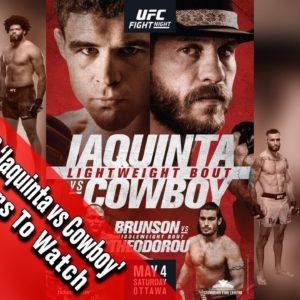 Прямая трансляция UFC Fight Night 151: Эл Яквинта - Дональд Серроне