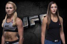 Видео боя Андреа Ли — Монтана Де Ла Роса UFC Fight Night 154