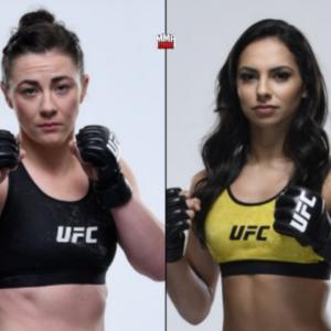 Видео боя Ариана Липски — Молли МакКэн UFC Fight Night 154