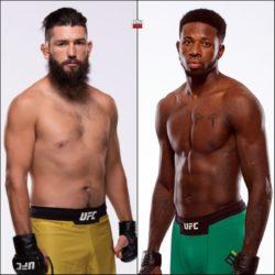 Видео боя Брайан Барбарена — Рэнди Браун UFC Fight Night 154