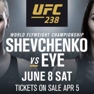 Видео боя Валентина Шевченко – Джессика Ай UFC 238