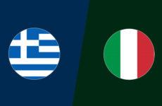 Прямая трансляция Греция — Италия. Квалификация Чемпионата Европы. 08.06.19