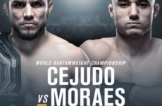 Видео боя Генри Сехудо  – Марлон Мораес UFC 238