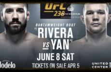 Видео боя Джимми Ривера – Петр Ян UFC 238