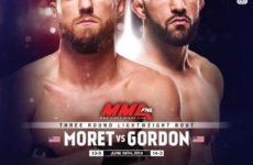 Видео боя Джэрад Гордон — Дэн Морет UFC on ESPN 3
