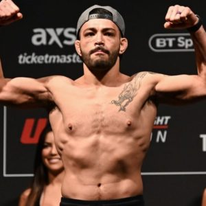Видео боя Дэн Идж — Кевин Агиллар UFC Fight Night 154