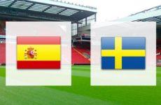 Прямая трансляция Испания — Швеция. Квалификация Чемпионата Европы. 10.06.19